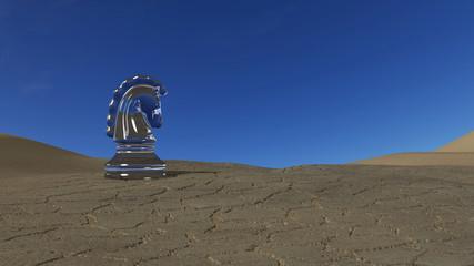 Knight in the Desert