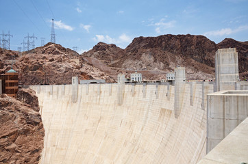 Printed roller blinds Dam Hoover Dam, border between the US states of Arizona and Nevada