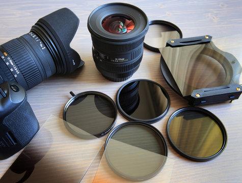 Fotoausrüstung ...