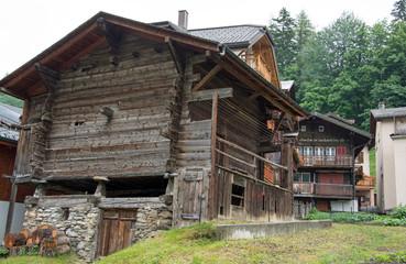 Leukerbad, Wallis, Schweiz
