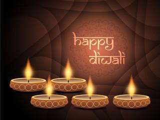 elegant background design for diwali festival