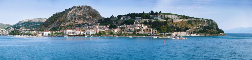 panoramic view of Nafplio, Argolis, Greece