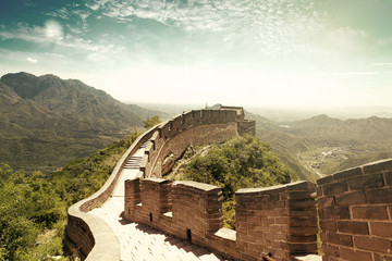 Fotobehang China The Great Wall of China