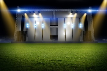 Music Stage on the Field