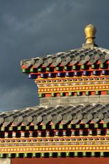 Détail d'un petit temple