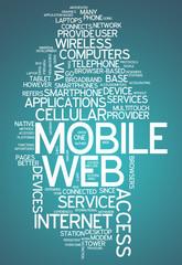 "Word Cloud ""Mobile Web"""