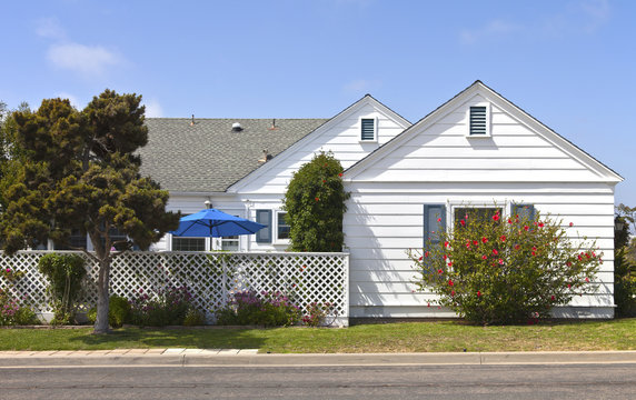 Residential home in Point Loma California.