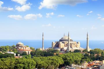 Hagia Irene and Hagia Sophia