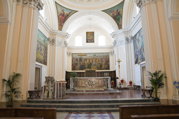 Cathedral of Manfredonia. Puglia. Italy.