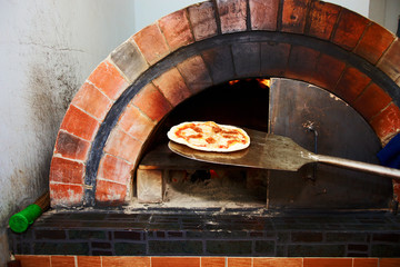 Pizza from stove