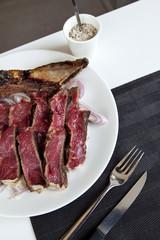 Entrecôte, steak, côte de bœuf, viande, barbecue, grill