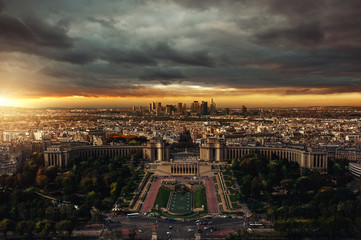 Paris Sundown