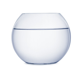 Empty fish bowl