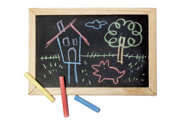 Child drawing board