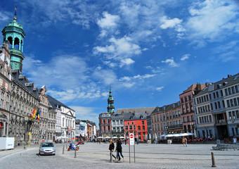 Grand Place de Mons Papier Peint