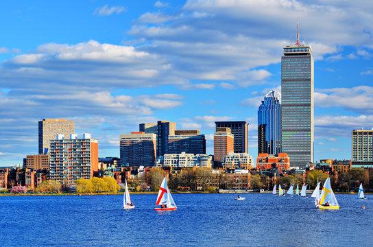 Boston, Massachusetts Skyline at Back Bay