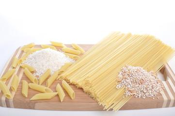 pasta (flour products)