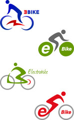 E-Bike Logo Set_1