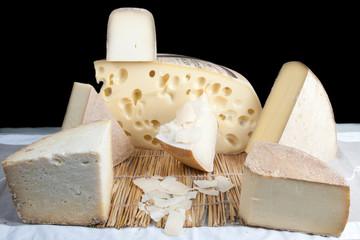 plateau de fromage dur