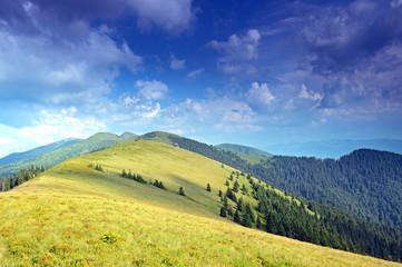 "Travel on mountain tops ""Carpathians"""