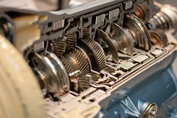 Maquina industrial Fototapete