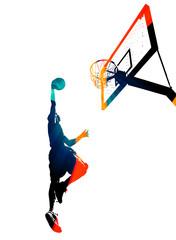 Funky Basketball Slam Dunk