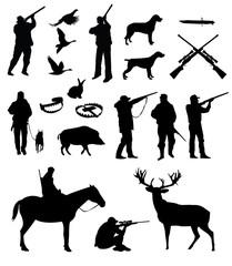 Hunting vector set