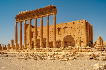 Temple of Bel Ruins