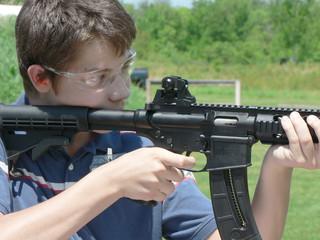 shooting, shooting range