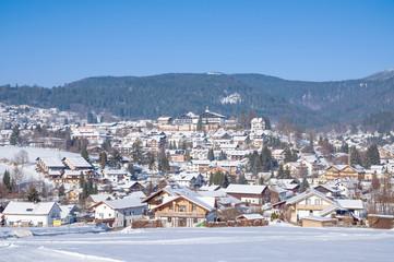 der beliebte Urlaubsort Bodenmais im Bayerischen Wald
