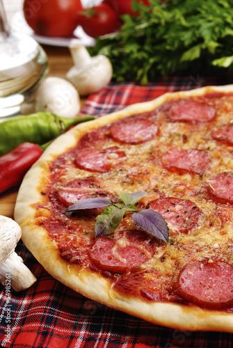 Пицца пепперони 100 рецептов с фото