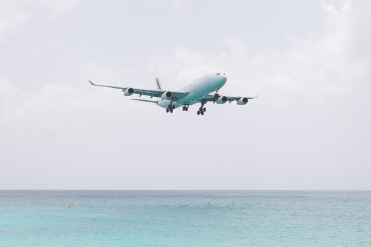 ST MARTIN, ANTILLES - July 19: the tourist office and Air France