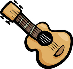 guitar clip art cartoon illustration