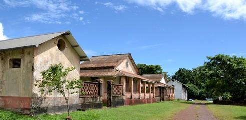 GUYANE : Bagne de l'île royale