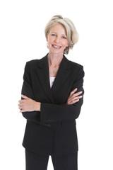 Portrait Of Excited Businesswoman