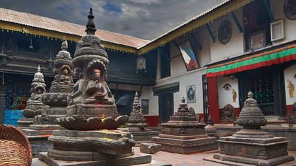 Wall Mural - Hindu temple