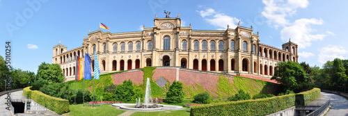 Panoramafoto Maximilianeum, München