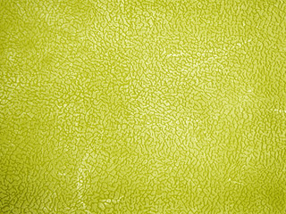 Yellow leather background or texture