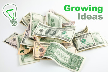 Creative growing money idea
