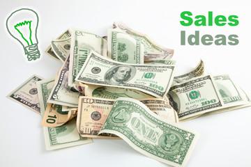 Creative Sales Money Idea