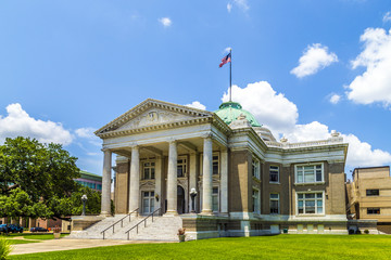 famous historic city hall in Lake Charles