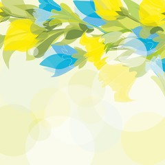 Abstract  flpwer background