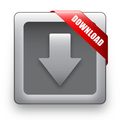"""DOWNLOAD"" Web Button (internet downloads upload click here go)"