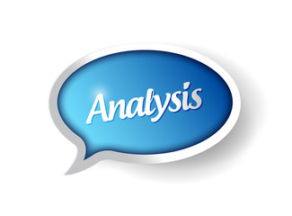 analysis message communication bubble