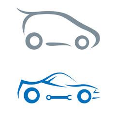 Wall Mural - Auto - car symbol
