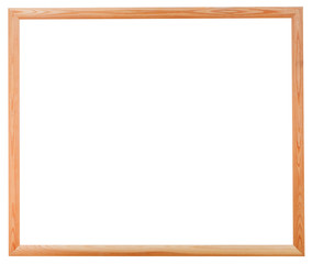 new wooden narrow picture frame