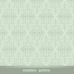 Seamless lace pattern, blue wallpaper