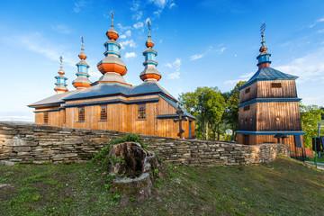 Eastern Orthodox Church in Komancza, Poland - fototapety na wymiar