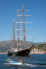 large motor sailer
