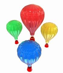 Hot Air Balloons with Gondola